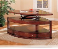 Benicia Pie Shape Coffee Table