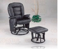 Broadland Black Recliner