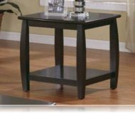 Cappuccino Finish End Table