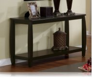 Cappuccino Finish Sofa Table