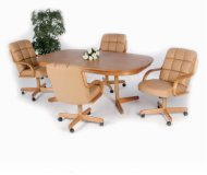 Casual Rectangle 5 Pc Home Office Set