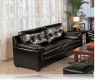Century Drive Leather Sofa