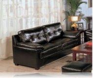 Century Drive Leather Sofa