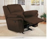 Cozy Chocolate Recliner