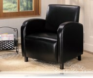 Dark Brown Accent Chair