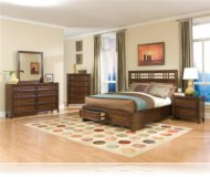 Dominic 5 Piece King Storage Bedroom Set