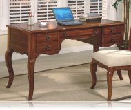Elegant Writing Desk with Storage Drawers