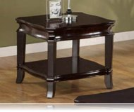 Espresso Finish End Table