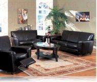 Havana Leather Sofa + Love Seat