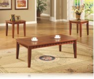Hoskins 3 Pc. Occasional Table Set