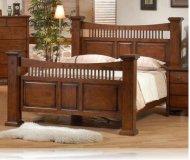 Jackson City King Bedroom Bed