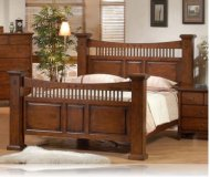 Jackson City Queen Bedroom Bed