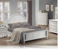 Kayla White 5 Pc. Queen Bedroom Set