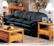 Lavinia Leather Sofa