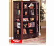 Louis Philippe Bookcase Corner