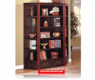 Louis Philippe Center Bookcase