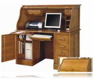 Luxury Brown Computer Desk