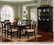 Melton 6 Pc. Dining Set + China