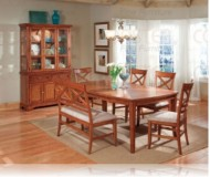 Metropolitan 7 Pc. Dining Set + China