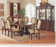 Palermo 7 Pc. Dining Set + China