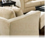 Park Place Cream Velvet chair