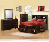 Phoenix KE 5 Pc. King Storage Bedroom Set