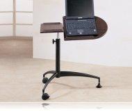 Post Laptop Stand Desk
