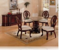 Rother 5 Pc. Cherry Dining Set + Buffet