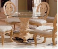 Rother Antique White Dining Table