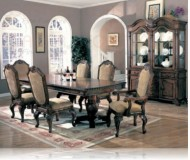 Saint Charles 7 Pc. Dining Set + China