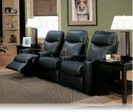 Showtime 3 Home Theater Recliner