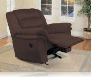 Stafford Chocolate Recliner