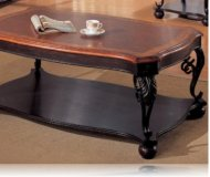Two Tone Occasional Coffee Table