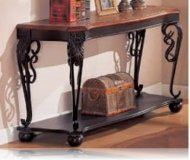 Two Tone Occasional Sofa Table