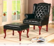 Walterville Chair with Ottoman