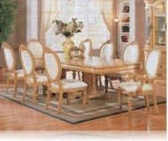 Wynn Antique 7 Pc. White Dining Set