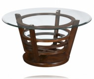Hudson Round Cocktail Table