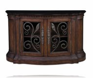 Smythfield Two Door Curved Credenza