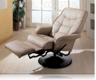 Ashford Bone Swivel Recliner