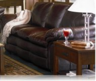 Ashur Leather Sofa