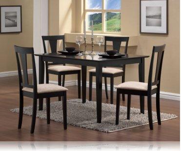 Bakersfield Dining 5 Pc Set Dining Room Furniture Set Coaster 150181