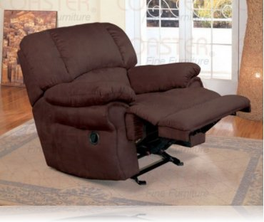 Bassetlaw Chocolate Recliner