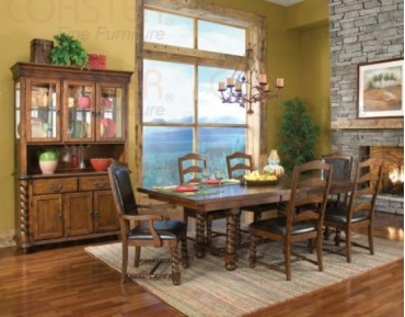 Beaumont 7 Pc. Dining Set + China