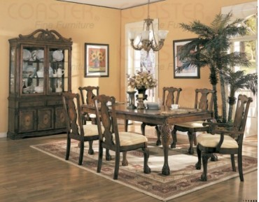 Bedford 7 Pc. Dining Set + China