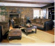 Belamar Leather Sofa + Love Seat