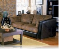Belamar Leather Sofa