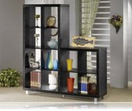 Bookcase Black Finish
