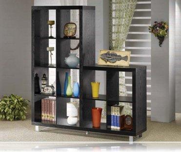 Bookcase Black Finish