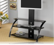 Bracket in Black TV Stand