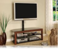 Bracket  cherry wood tv stand